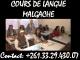 COURS DE LANGUE MALGACHE