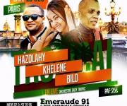 BILO/KHELENE/HAZOLAHY À PARIS image 0